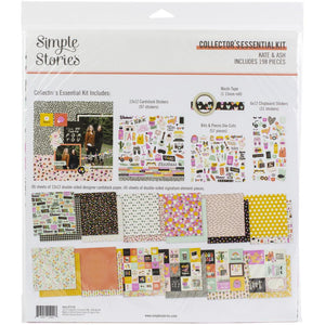 Simple Stories - Kate & Ash Collector's Essential Kit