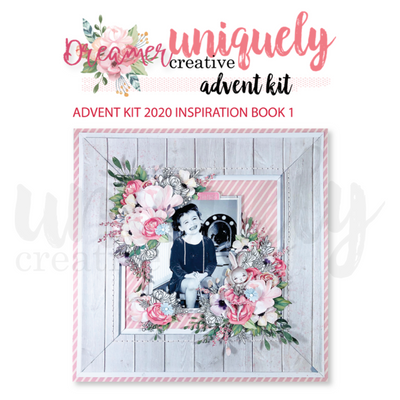 Uniquely Creative - Advent Kit 2020 - Inspiration Book 1