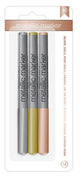 American Crafts - Metallic Markers - 3pk/g