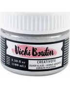 Vicki Boutin Mixed Media Creative FX Glaze 3.38oz - Silver