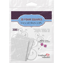 3L - Scrapbook Adhesives 3D Self-Adhesive Foam Squares 308/Pkg
