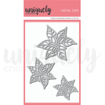 Uniquely Creative - Poinsettia Die