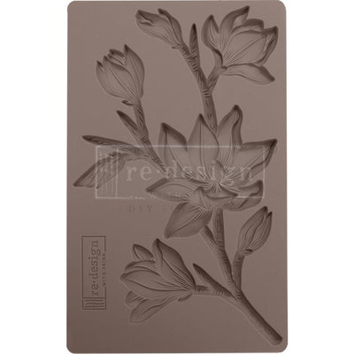 Prima - Finnabair Art Deco Mould - Forest Flora
