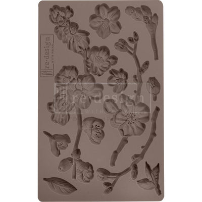 Prima - Finnabair Art Deco Mould - Cherry Blossoms