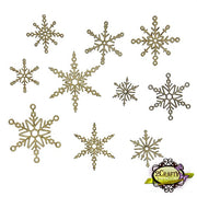 2Crafty - Crystal Snowflakes
