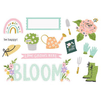 Simple Stories -  Simple Page Pieces - Bloom