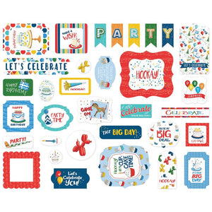 Carta Bella - Let's Celebrate Ephemera