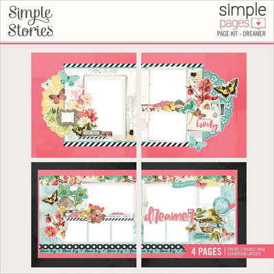Simple Stories -  Simple Pages Page Kit - Dreamer