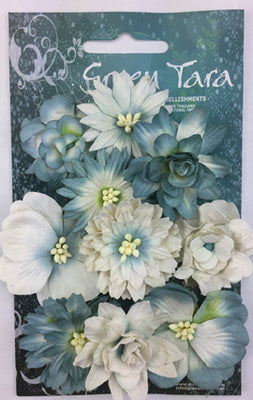 Green Tara - Cornflower Packs - Blue