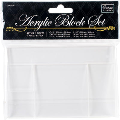 Couture Creations - Acrylic Block Set