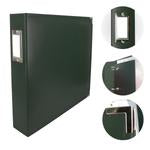 Couture Creations 12x12 Classic Superior Leather Album - Forest Green