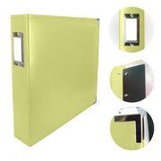Couture Creations 12x12 Classic Superior Leather Album - Kiwi Green