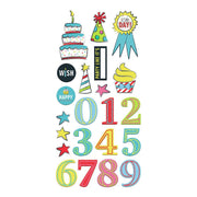 Fancy Pants - Cake Smash Chipboard Stickers