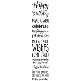 Darkroom Door - Sentiment Stamps - Happy Birthday