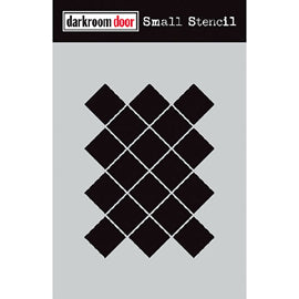 Darkroom Door - Small Stencil - Arty Mosaic