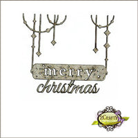 Dangling Merry Christmas Sign