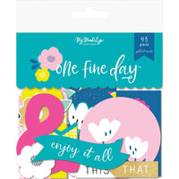 My Mind's Eye - One Fine Day Mixed Bag Embellishments