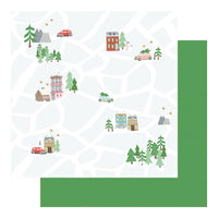 Fancy Pants - Wishmas Paper - Christmas Map