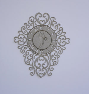 Flourish Clock Face