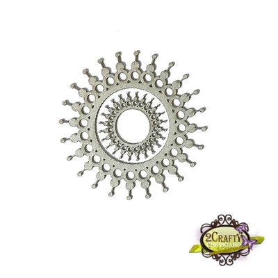 Dotted Doily Frames