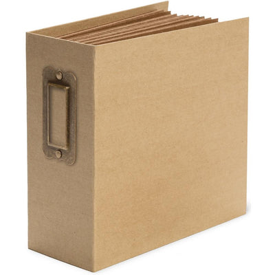 Graphic 45 - Staples Square Tag & Pocket Album-Kraft