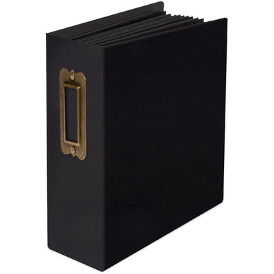 Graphic 45 - Staples ATC Rectangle Tag & Pocket Album Black