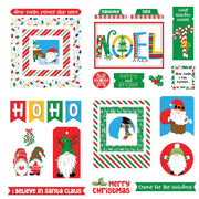 Photo Play - Gnome for Christmas Ephemera Cardstock Die Cuts