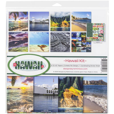 Reminisce - Hawaii Collection Kit