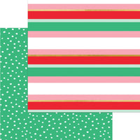 My Mind's Eye - Holly Jolly Paper - Merry & Striped