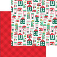 My Mind's Eye - Holly Jolly Paper - Up on the Housetop