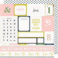 Heidi Swapp - Emerson Lane Paper - Easy Peasy