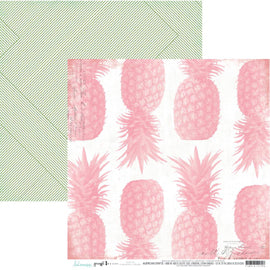 Heidi Swapp - Pineapple Crush Paper - Pineapple Crush