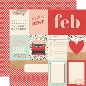 Simple Stories - Hello Today Paper - February