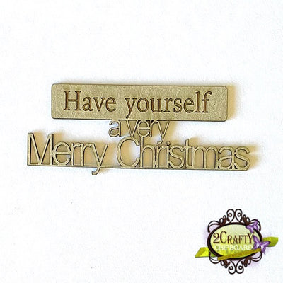2Crafty - Have yourself a very Merry Christmas Title