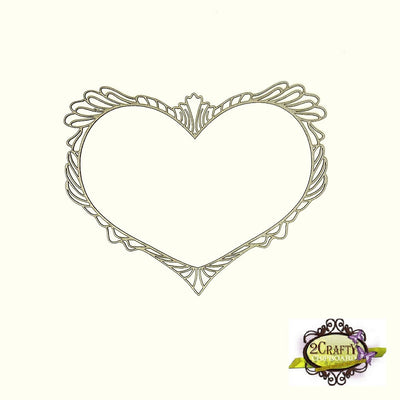 2Crafty - Heritage Heart Frame