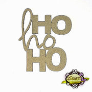 2Crafty - Hohoho Stacked Title