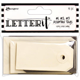 Ranger - Letter It - Tag Assortment