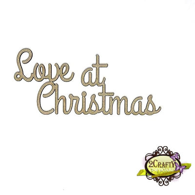 2Crafty - Love at Christmas Title