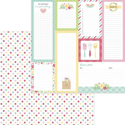 Doodlebug - Made with Love Paper - Sugar Sprinkles