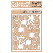 Celebr8 Matt Board - Hex Corners
