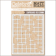 Celebr8 Matt Board - Grid Sections