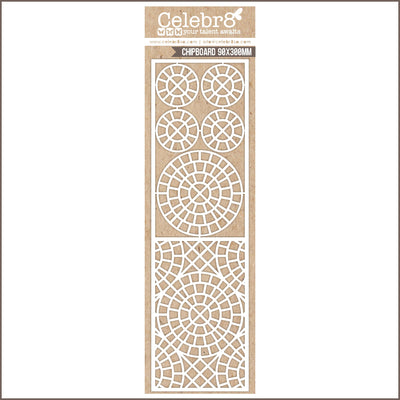 Celebr8 Matt Board - Tile Mesh Pattern