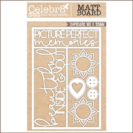 Celebr8 Matt Board - Beautiful Inside & Out
