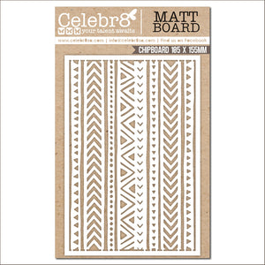 Celebr8 Matt Board - Pattern Strips