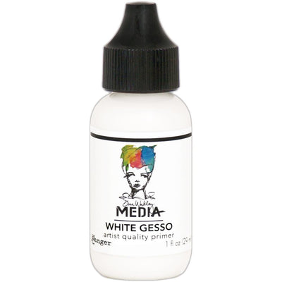 Ranger - Dina Wakley Media Gesso - White 1oz Bottle