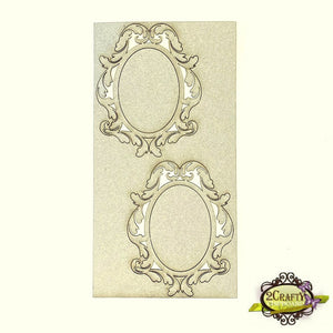 2Crafty - Mini Decorative Frame Set 1