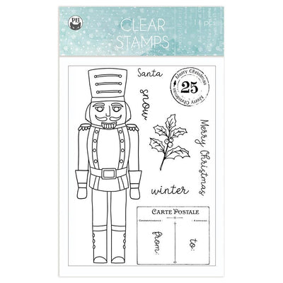 P13 - The Four Seasons - Winter Clear Stamps 11 pcs