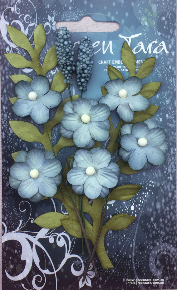 Green Tara - Primrose Collection - Sky Blue
