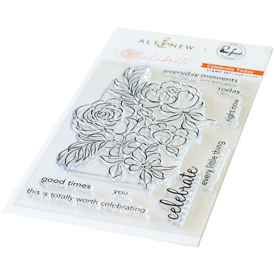 Pinkfresh - Celebrate Stamp Set - Celebrate Today