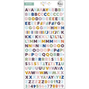 Pinkfresh - Days of Splendor Mini Alphabet Stickers